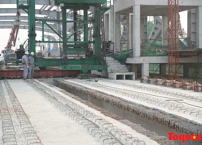 Hợp long toàn tuyến đường sắt trên cao Cát Linh - Hà Đông - ảnh 1
