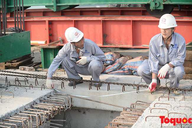 Hợp long toàn tuyến đường sắt trên cao Cát Linh - Hà Đông - ảnh 4