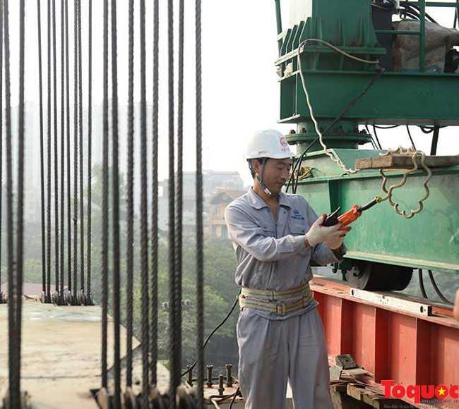 Hợp long toàn tuyến đường sắt trên cao Cát Linh - Hà Đông - ảnh 6