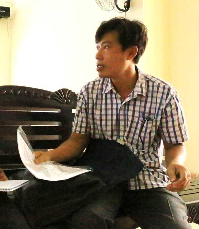 Lái tàu Nguyễn Văn Túy tại phiên tòa phúc thẩm.