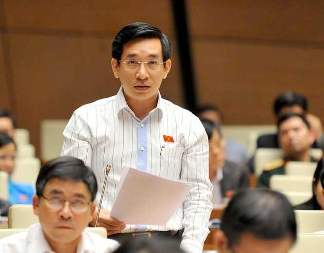 Đại biểu Quốc hội Nguyễn Văn Cảnh - ảnh: Cổng TTQH