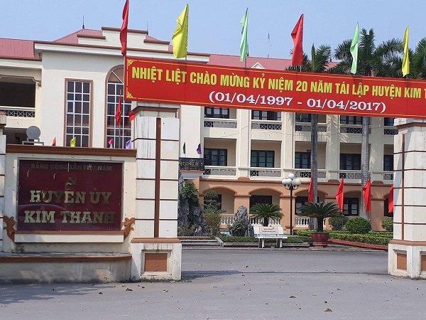 cả nhà làm quan ở Hải Dương, cả nhà làm quan, cả họ làm quan, huyện Kim Thành