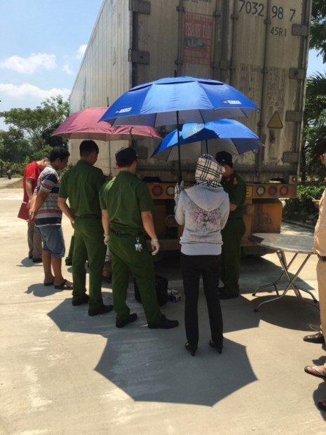 CSGT Quảng Nam bắt tài xế xe tông chết người ở Phú Thọ - ảnh 1
