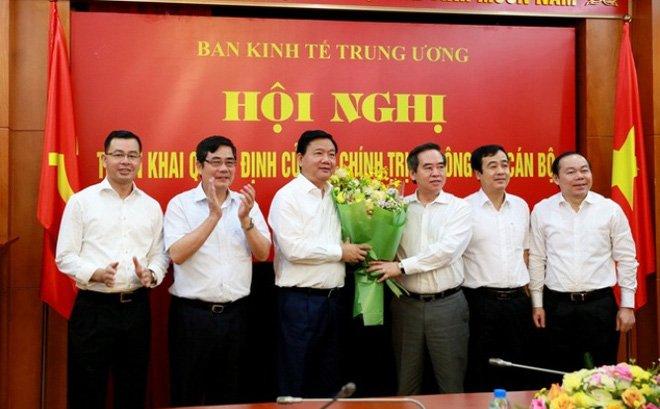Hinh anh Ong Dinh La Thang ve nhan nhiem vu Pho Ban Kinh te Trung uong