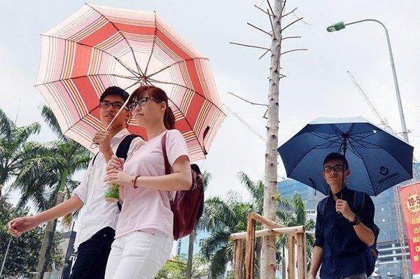 Hinh anh Thoi tiet hom nay 31/5: Bac Bo nang nong