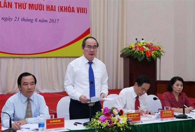 Hiep thuong cu Chu tich MTTQ Viet Nam thay ong Nguyen Thien Nhan hinh anh 1