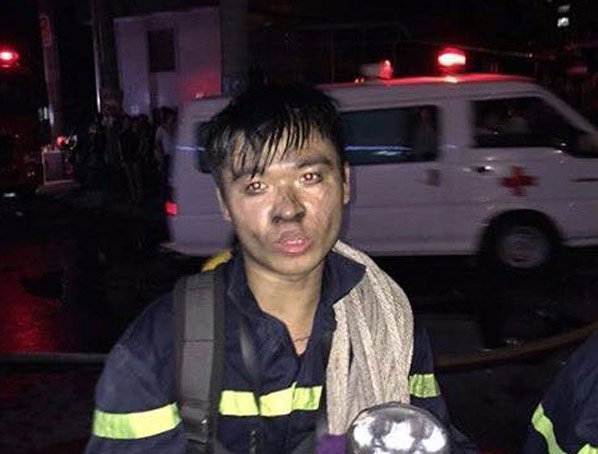 Cứu hỏa, Lính cứu hỏa, Cháy