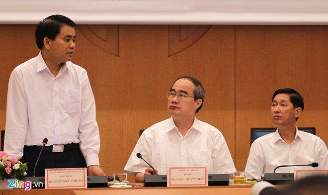 Chủ tịch TP Nguyễn Đức Chung