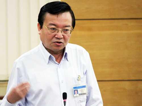 Giám đốc Sở Giáo dục và Đào tạo TP HCM Lê Hồng Sơn. Ảnh: Mạnh Tùng