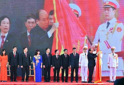 Thu tuong trao huan chuuong HCM lan thu 2 cho hoc vien