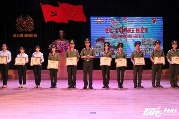 Hinh anh Hoc vien An ninh tong ket Thang Thanh nien: Nhieu thanh tich dac biet 9