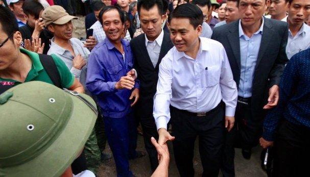 Hinh anh Vu viec Dong Tam: 'Neu sai, chung ta nhan loi, dan sai dan chiu trach nhiem'