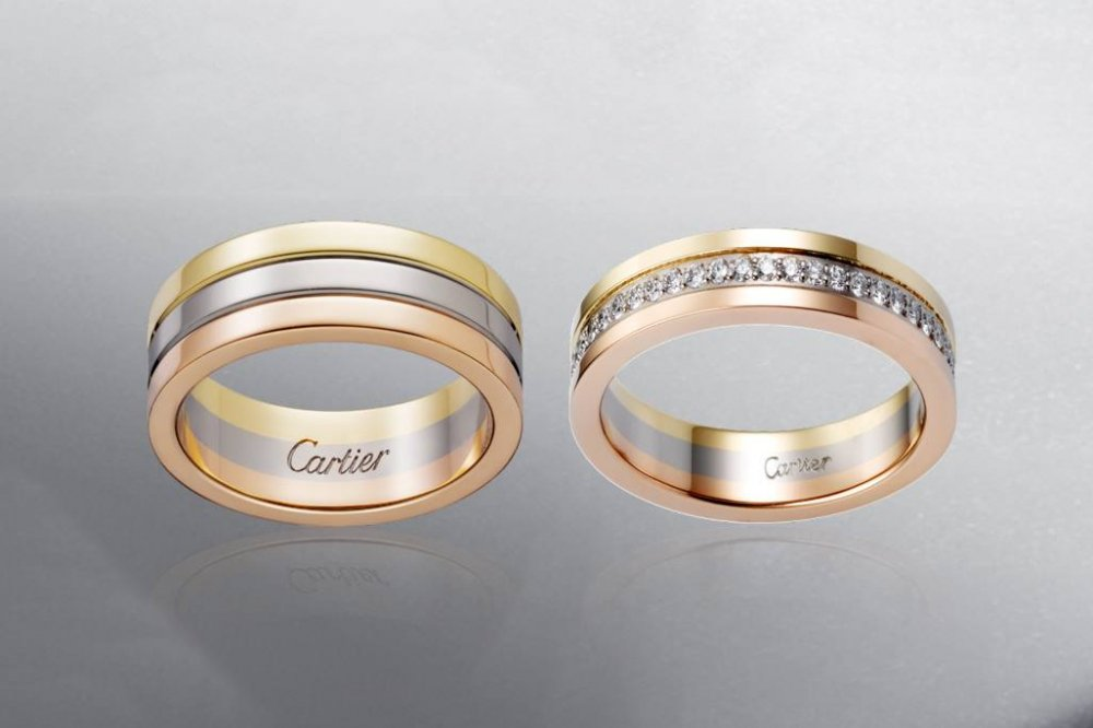 Nhẫn cặp Cartier