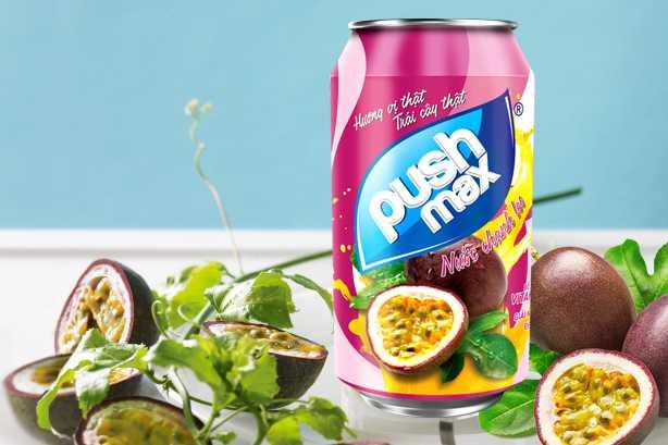 PushMax Chanh leo chiet suat tu chanh leo tuoi giau vitamin giup tang suc de khang cho co the