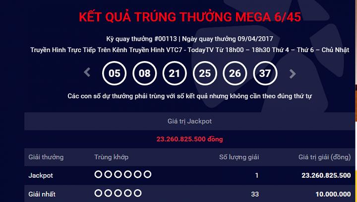 Hinh anh Ve so Vietlott trung hon 23 ty lai duoc phat hanh tai Ha Noi