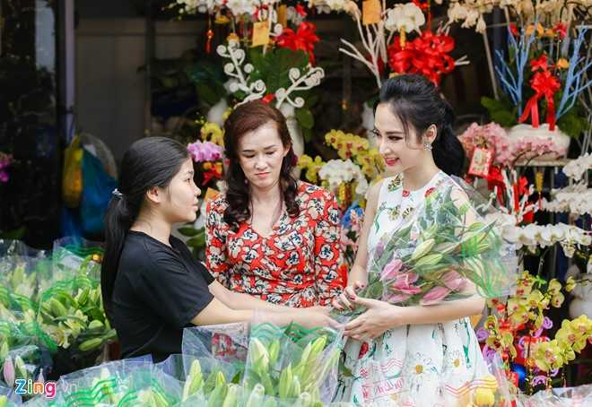 Angela Phuong Trinh don Tet o can ho moi mua hinh anh 8
