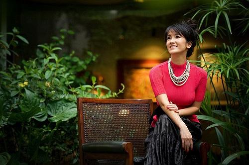 Tách biệt khỏi những ồn ào náo nhiệt của đời sống đô thị, diva Hồng Nhung chọn cho mình một không gian riêng hòa mình vào thiên nhiên.
