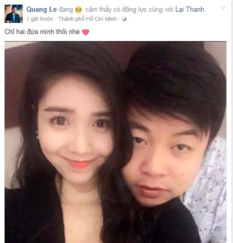 Quang Le sap lay vo - Quang Lê sắp lấy vợ hotgirl kém 11 tuổi