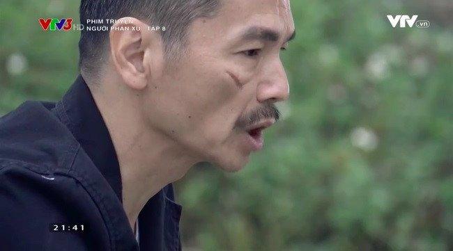 Dien vien Luong Bong 'Nguoi phan xu' chay da mat vi vet seo hoa trang hinh anh 2