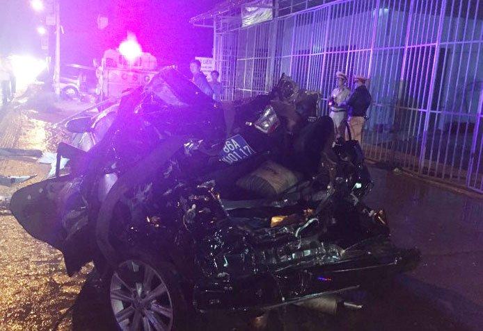 tai nạn giao thông mới nhất ở bình thuận
