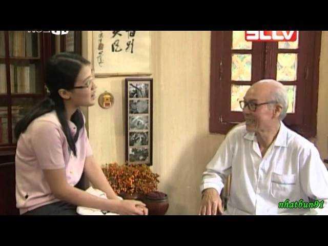 Hình ảnh nghệ sĩ Chu Văn Thức trong vai ông Bằng của phim Mùa lá rụng phát sóng năm 2001. Ảnh: TL.