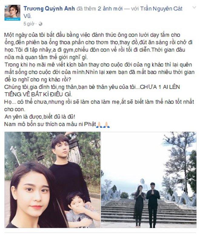 Trương Quỳnh Anh lên tiếng về chuyện ly hôn với Tim sau 7 năm gắn bó - Ảnh 1.