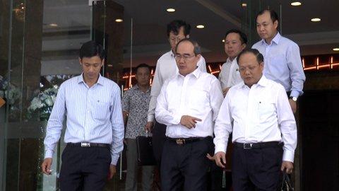 Nguyễn Thiện Nhân, Nguyen Thien Nhan, Bí thư TP.HCM, bí thư Nguyễn Thiện Nhân