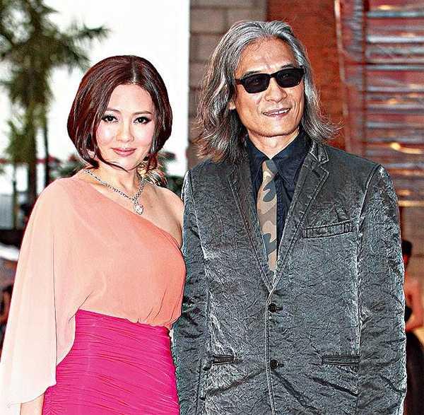 Lý Lệ Trân và người tình Phan Nguyên Lương.