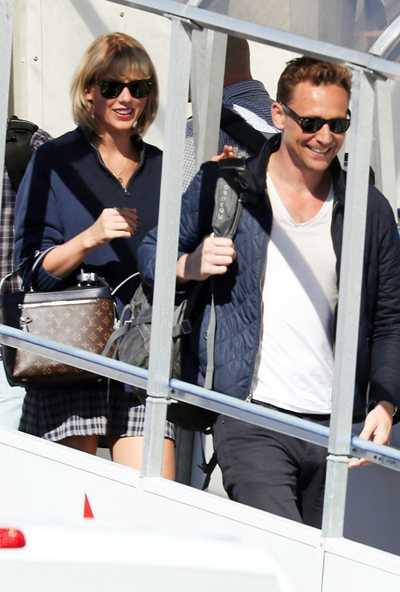 Tom Hiddleston và Taylor Swift hẹn hò công khai từ hồi tháng 6.