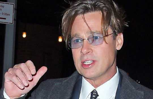 Brad đang bị FBI điều tra tội bạo hành con.