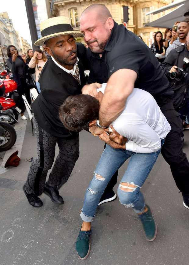 Vừa sàm sỡ Gigi Hadid, nhà báo biến thái lại xông vào hôn vòng 3 Kim Kardashian - Ảnh 3.