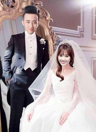 Hari Won - Trấn Thành chụp ảnh cưới vào cuối tháng 9 vừa qua. Bức ảnh khiến cả hai vướng tin đồn sắp tổ chức hôn lễ cuối năm nay.