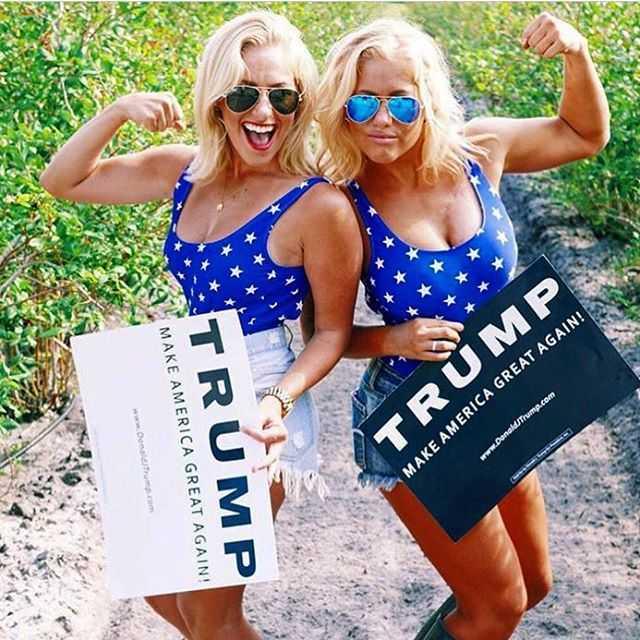Mỹ nhân đua nhau mặc gợi cảm mừng Trump chiến thắng - 7