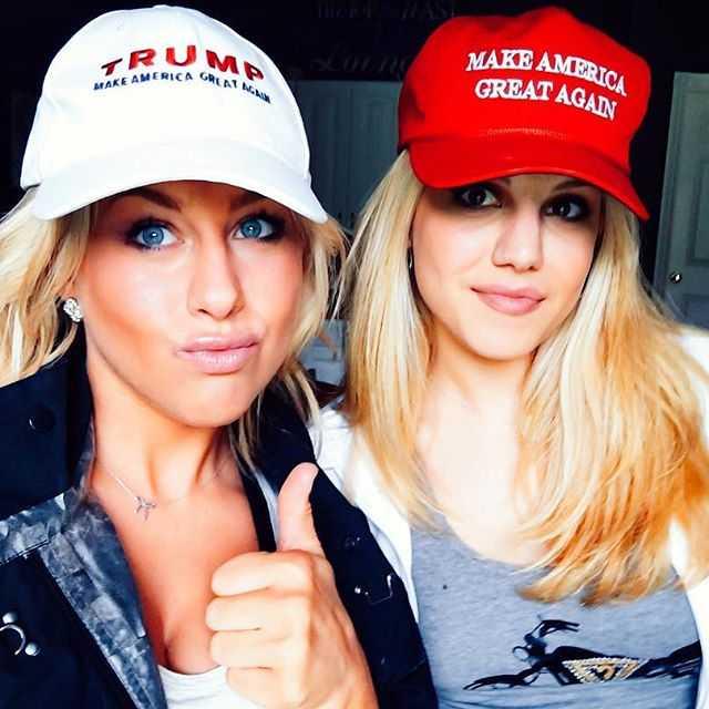 Mỹ nhân đua nhau mặc gợi cảm mừng Trump chiến thắng - 10