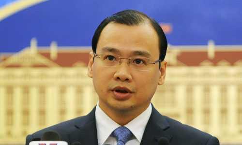 Người phát ngôn Bộ Ngoại giao Việt Nam Lê Hải Bình. Ảnh: Quý Đoàn