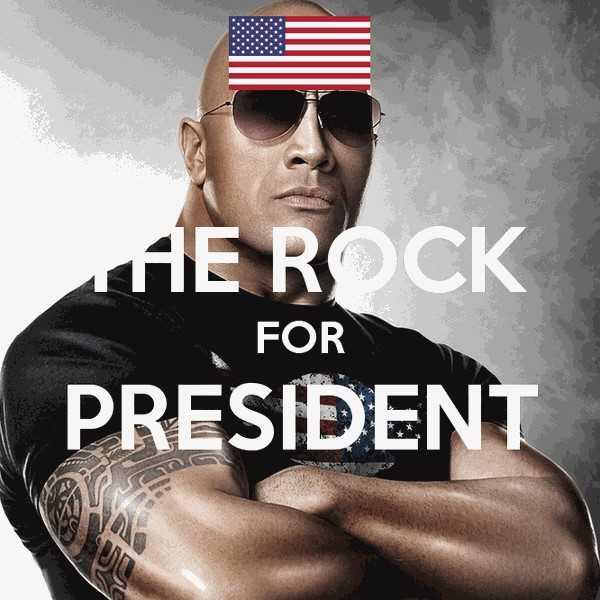 Ngoi sao co bap 'The Rock' muon tranh cu tong thong hinh anh 2