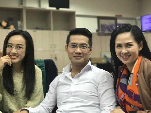 BTV Thuý Hằng, Hoài Anh và Tuấn Dương.