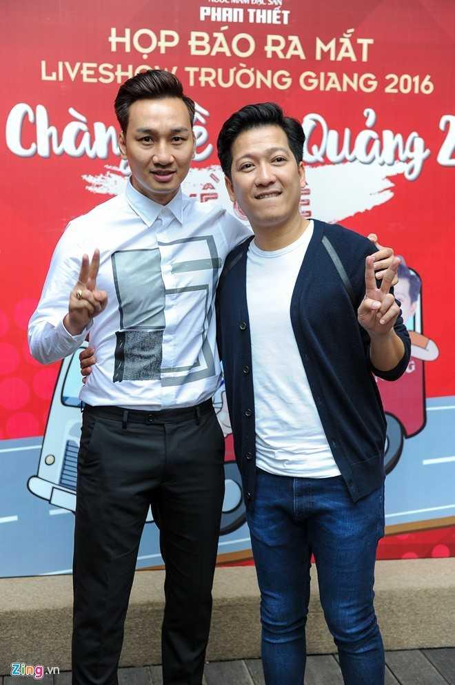 Thanh Trung phat ngon gay tranh cai trong show Truong Giang hinh anh 1