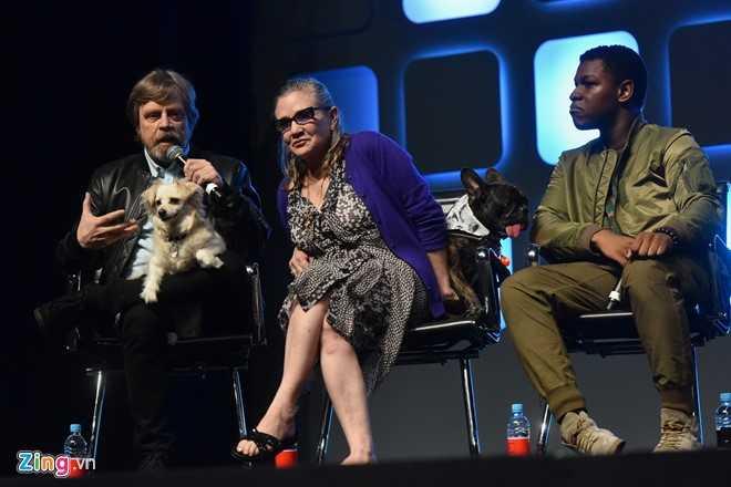 'Cong chua Leia' cua Star Wars qua doi o tuoi 60 hinh anh 2