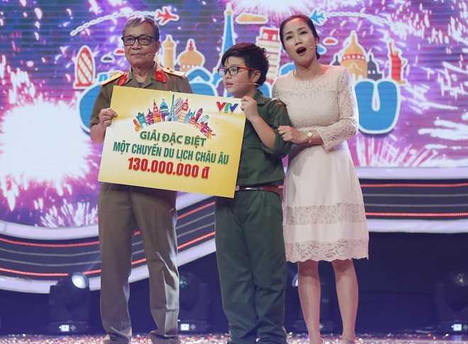Con trai Cong Ly chien thang 130 trieu dong o game show hinh anh 2