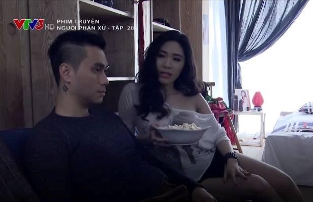 Ban gai Quang Le bi chi trich an mac phan cam trong 'Nguoi phan xu' hinh anh 2
