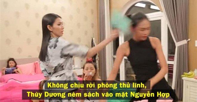 Hoang Yen giai thich viec thi sinh Next Top hat nuoc vao mat nhau hinh anh 1