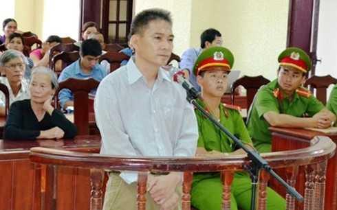 Bị cáo Lê Văn Hùng. (Ảnh: VOV)