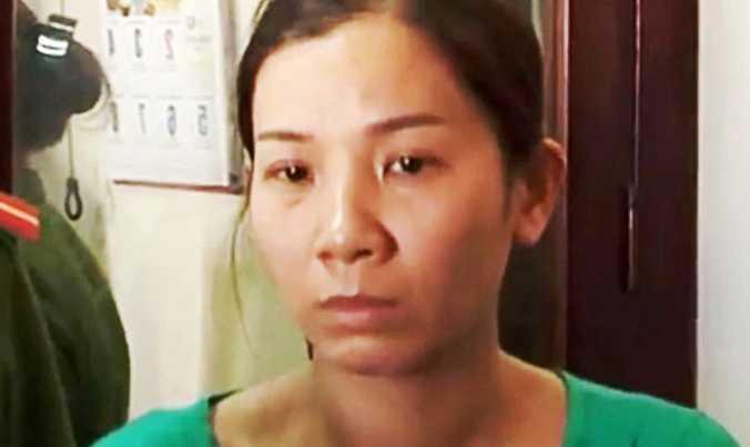 Nghi phạm lừa đảo Phan Thị Thùy Trang.