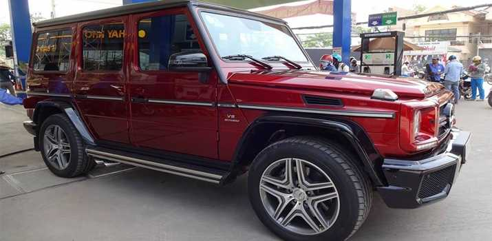 Xegiaothong_Mercedes-Benz_G63_mau_do_man 1