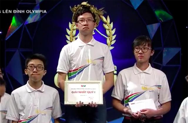 Nhật Minh đội Vòng nguyệt quế ở cuộc thi Quý 1