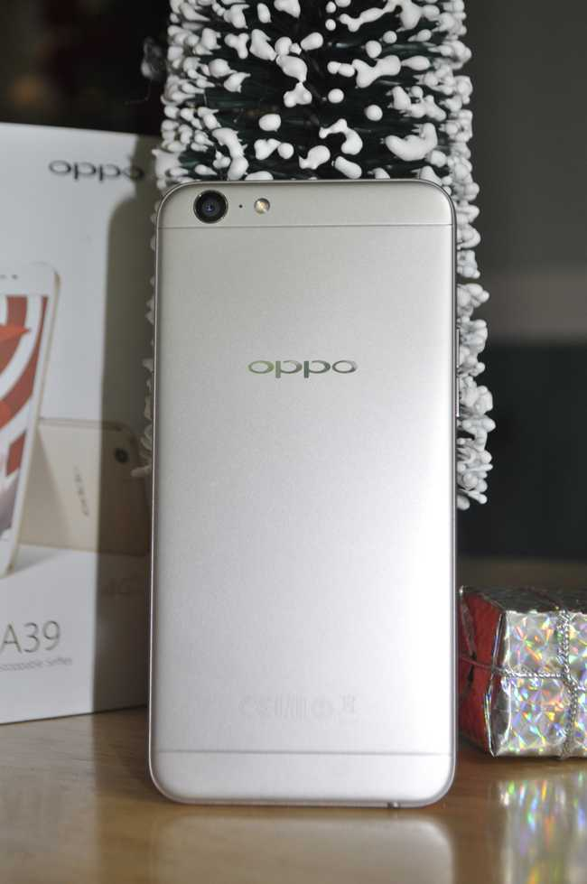 tren tay smartphone oppo a39 moi, thiet ke dep hinh anh 5