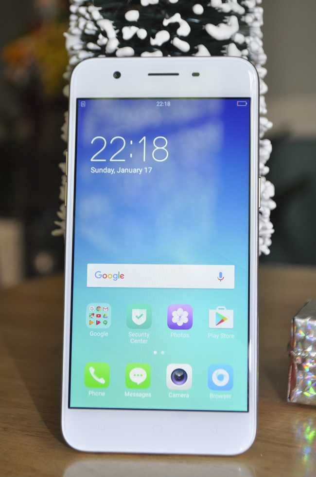 tren tay smartphone oppo a39 moi, thiet ke dep hinh anh 4