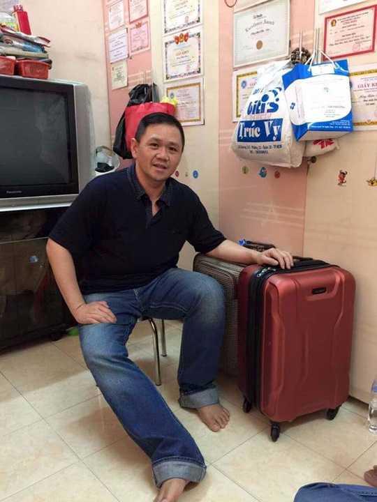 Minh Béo thông báo mình đã trở về Việt Nam.