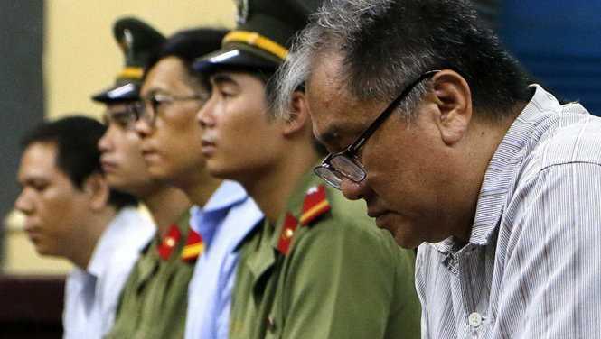 Bị cáo Phạm Công Danh tại phiên tòa ngày 9-9-2016 - Ảnh: Ngọc Dương
